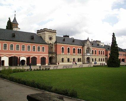 Castle, Sychrov, Czech Republic