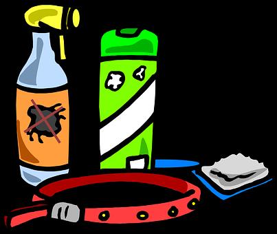 Flea, Spray, Collar, Brush, Pet, Animal, Dog, Bug