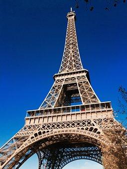 Paris, Eiffel Tower, Heritage, Architecture, Uplight