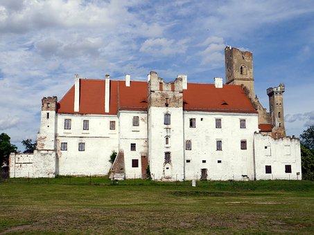 Lock, Breclav, Czech, Ruins