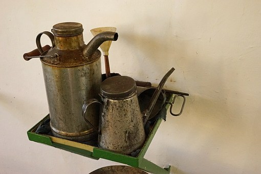 Oil Can, Old, Antique