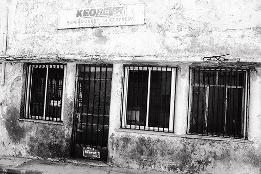 Abandoned, Building, Deserted, Market, Shop