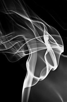 Smoke, Dancer, Smoke Dancer, Female, Woman, Lady, Art