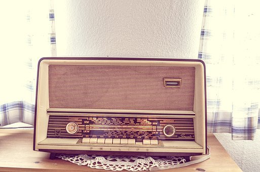 Tube Radio, Radio, Old, Speakers, Rusted, Retro