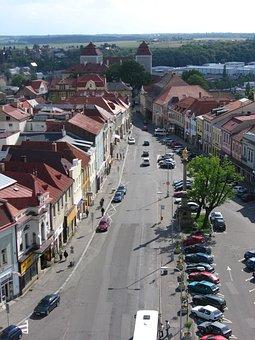 Mladá Boleslav, Czech Republic, Square, History