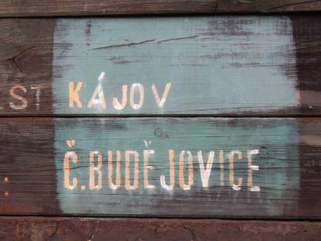 Kájov, Czech Budejovice, Train, Stop