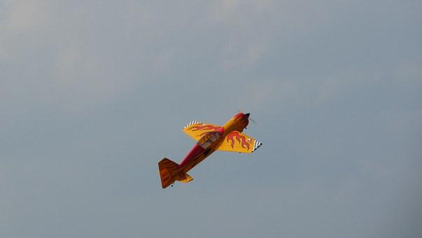 Stunt, Plane, Aircraft, Sukhoi
