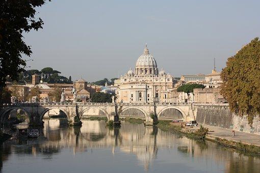 Rome, Vatican, Tiber, River