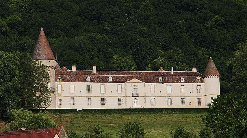 Castle, Bazoche, France, Architecture, Monument