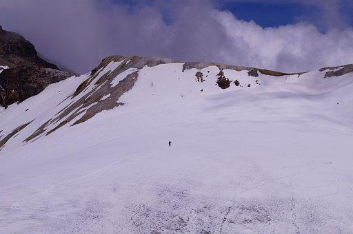 Glacier, Mountain, Mountaineering, Alpine, Ayoloco