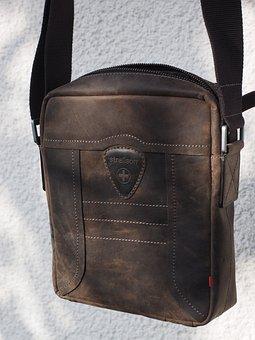 Bag, Leather Case, Leather, Strellson