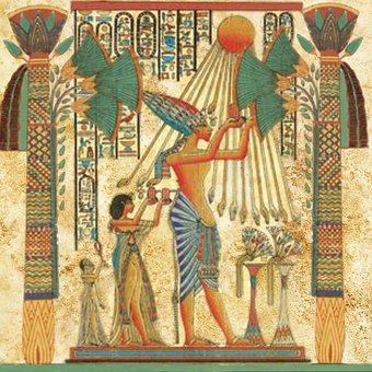 Egyptian, Man, Sun God, Ra, Amun, Royal, Ancient Egypt