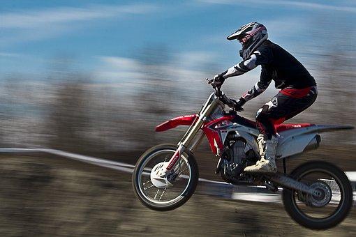 Moto, Motocros, Sport, Jump