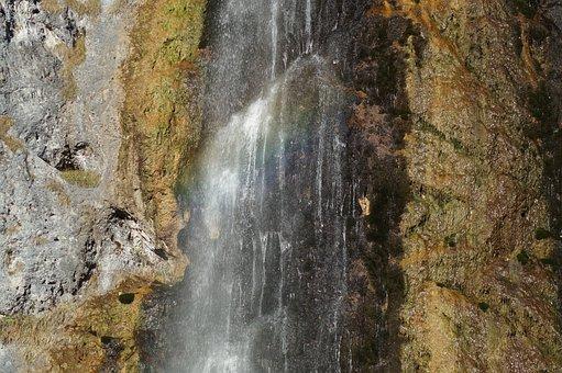 Waterfall, Water, Nature, Flow, Bach, Murmur, Waters