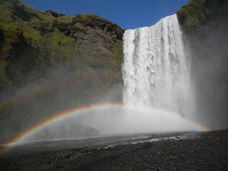 Waterfall, Ur-jauzi, Skogarfoss