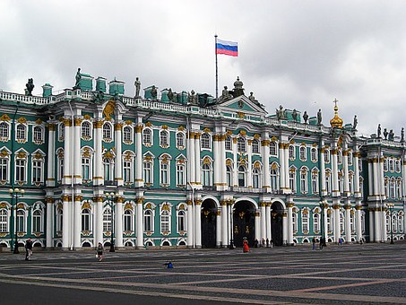 Building, Winter Palace, Peter, Russia