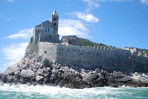 Cinque Terra, Italy, Italian, Architecture, Sea, Water