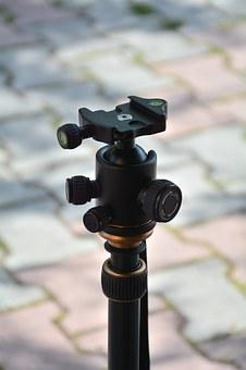 Ball Head, Tripod, Head Plate