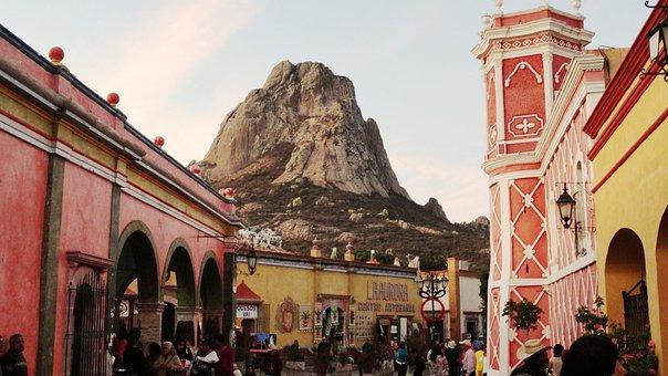 Peña, Bernal, Nature, Mexico, Rock, Monolith