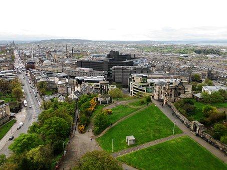 Calton Hill, Historic Buildings, Edinburgh