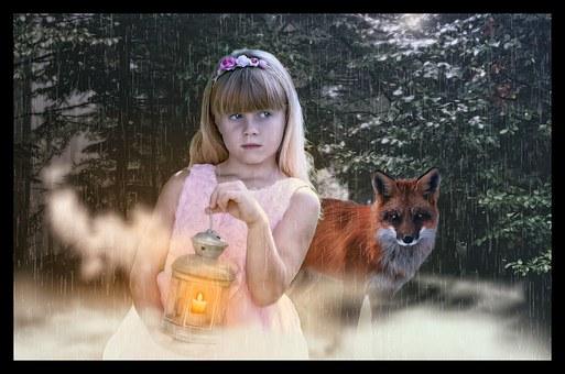 Gothic, Fantasy, Children, Female, Forest, Fairytale