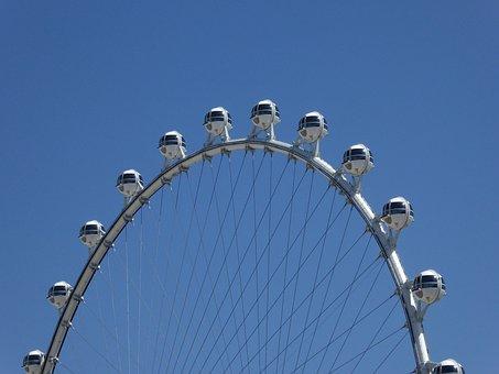 Las Vegas, Nevada, Roller, Ferris Wheel, High
