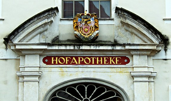 Portal, Housewife, Historically, Courtyard Pharmacy