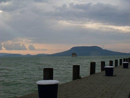 Rev, Port, Badacsony, Lake Balaton