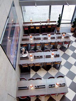 Dining Tables, Restaurant, Lonely, Read, Eat