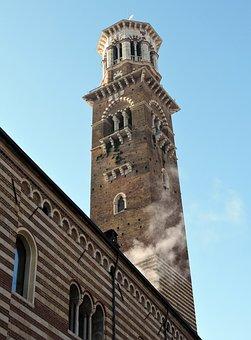 Tower Of Lamberti, Verona, Italy, Scala, Monument