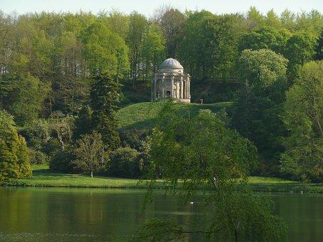 Stourhead Garden, Park, Wiltshire, England