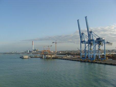 Port, Rome, Ships, Rev, Ship