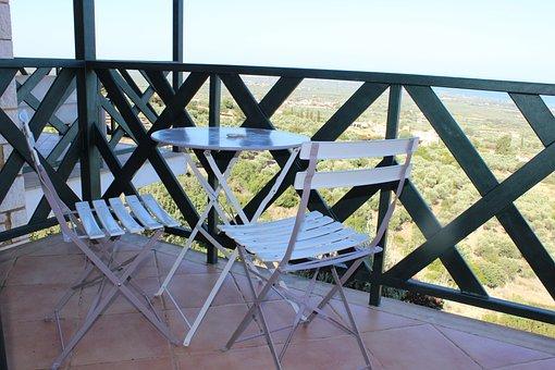 Balcony, Finka, Idyll, Holidays, Summer, Terrace, Show