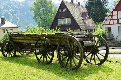 Dare, Truss, Old, Beuron, Germany, Meadow, Green