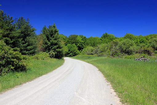 Gravel Road, Bronte Creek State Park, Canada, Ontario