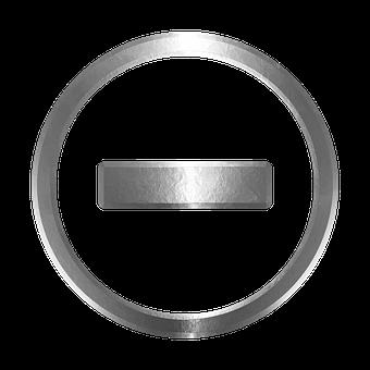 Icon, Negative, Decrease, Volume, Button, Subtract
