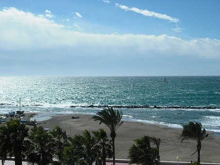 Almeria, Beach, Sea, Costa, Zapillo