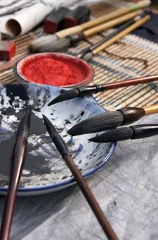 Culture, Writing Brush, Calligraphy
