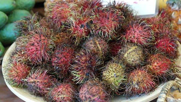 Rambutan, Fruits, Fruit, Delicious, Healthy, Vitamins