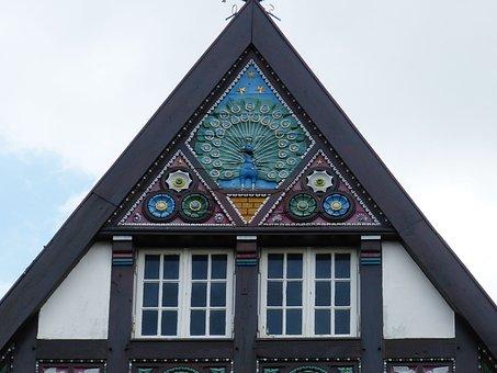 Osnabrück, Historic Center, House, Fachwerkhaus, Truss