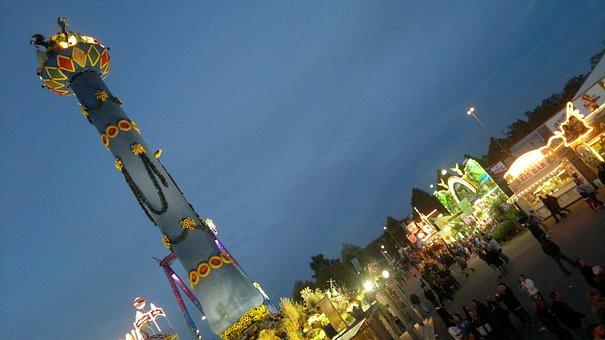Fruit Column, Folk Festival, Wasen, Year Market, Fair