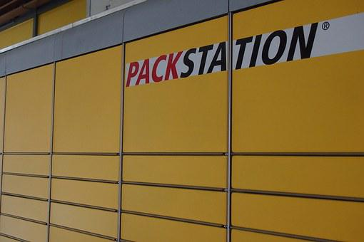 Post, Pack Station, Yellow, Made