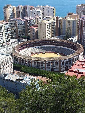 Andalucien, Malaga, Placa De Toros