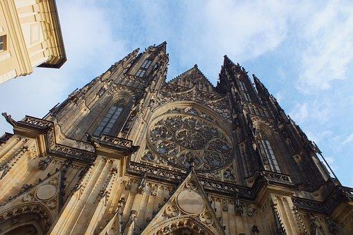 St Vitus Cathedral, Prague, Church, Dom