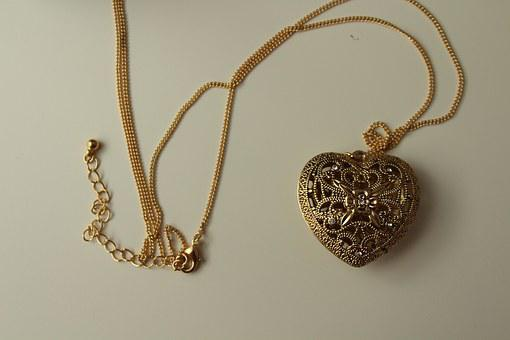 Chain, Gold, Jewellery, Gold Chain, Old, Vintage
