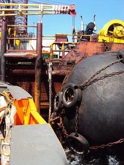 Africa, Gabon, Platform, Drilling