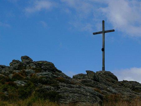 Arber, Arbergipfel, Arbergipfelkreuz, Summit Cross