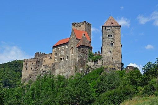 Castle, Hardegg, Thayatal, Waldviertel, Austria