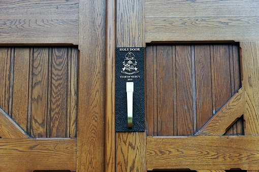Church, Halifax, Canada, City, Door