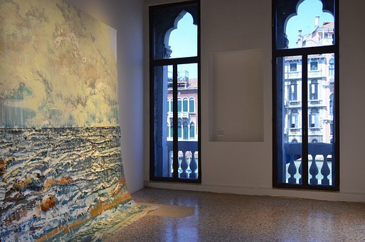 Venice, Venezia, Palace, Interior, Architecture